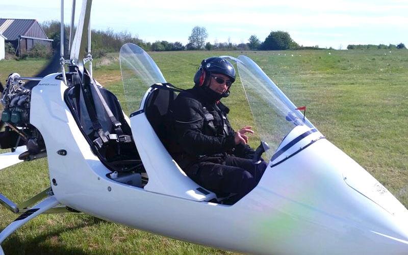 Joseph pilote autogire